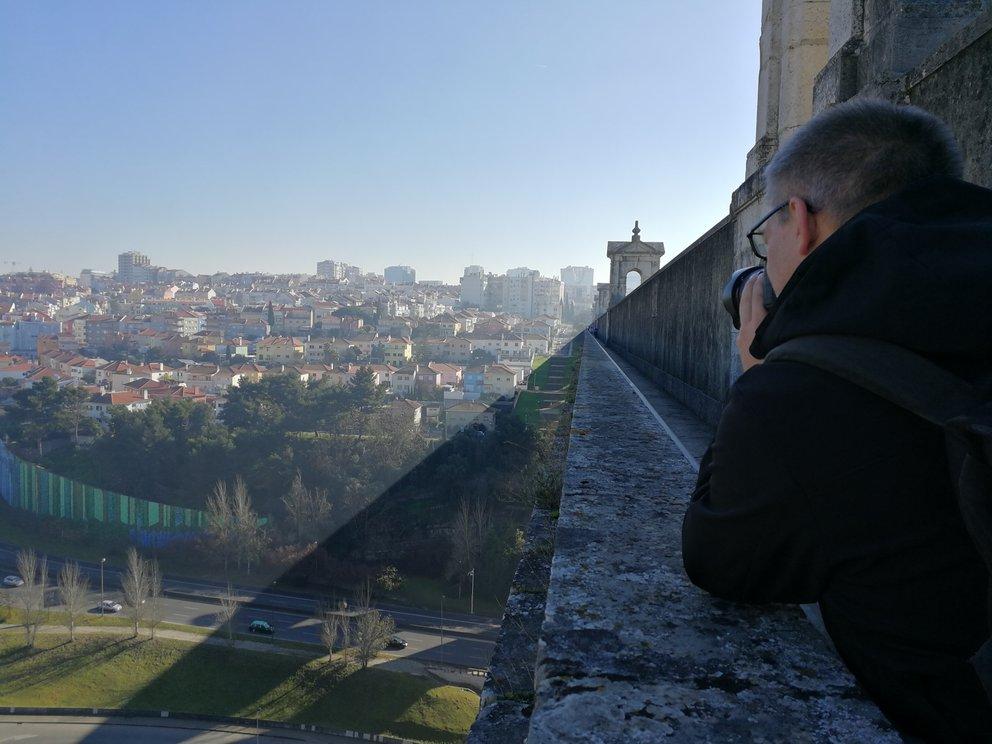 Blick vom Aquädukt